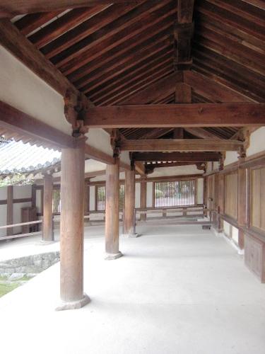 法隆寺回廊