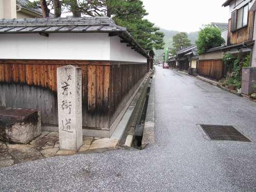 近江八幡の歴史街道