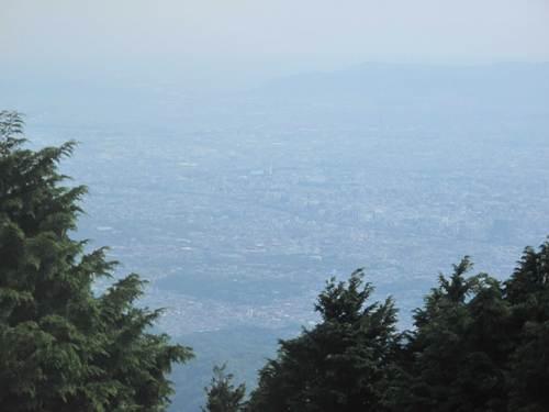 比叡山山頂からの眺望